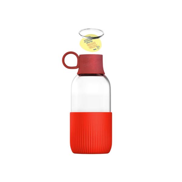 gourde en verre fabriquée en france, eco-responsable greenkit
