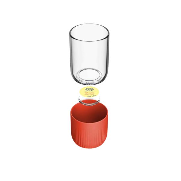 gobelet en verre fabriqué en france 100% personnalisable, cadeau entreprise, goodies