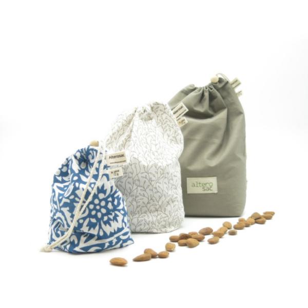 sac en coton bio pour les courses en vrac