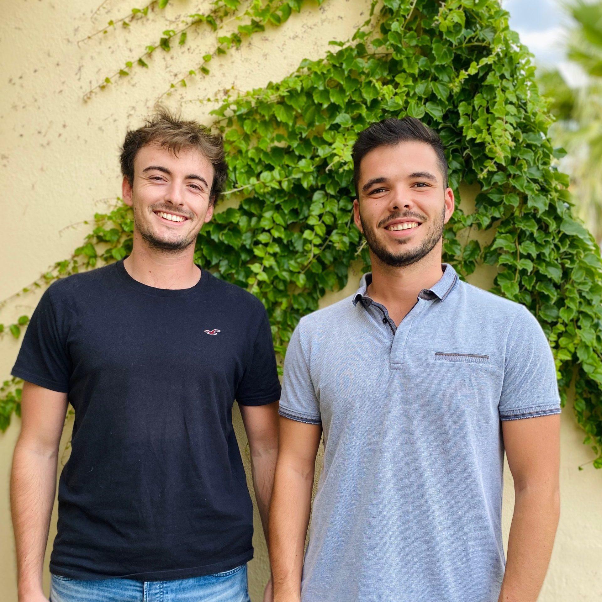 Tom et thomas fondateurs de greenkit, photo carrée