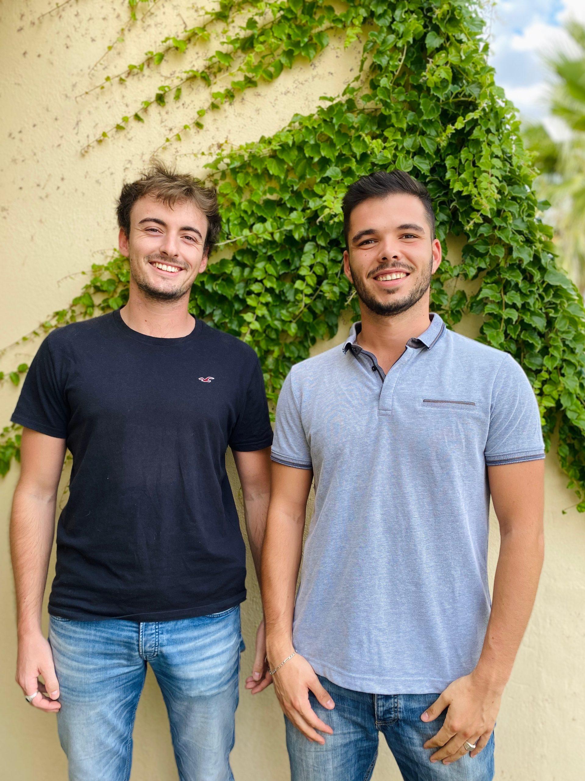 Tom et thomas fondateurs de greenkit, photo classique